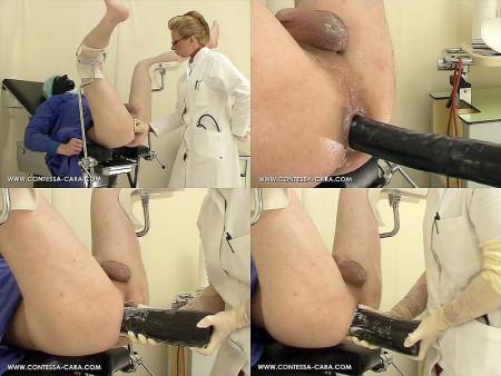 Woman spanking midget art